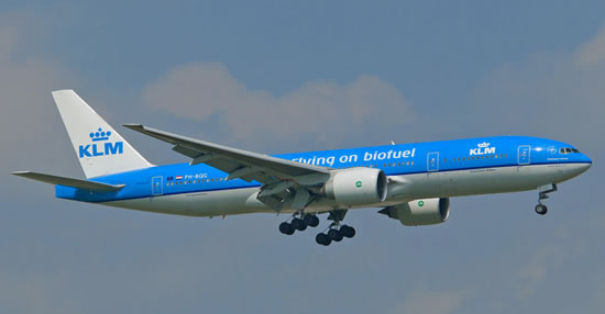 KLM Boeing 777-206ER PH-BQG
