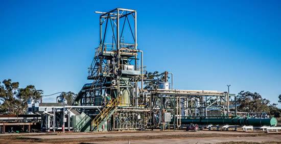 Green Distillation Technologies facility