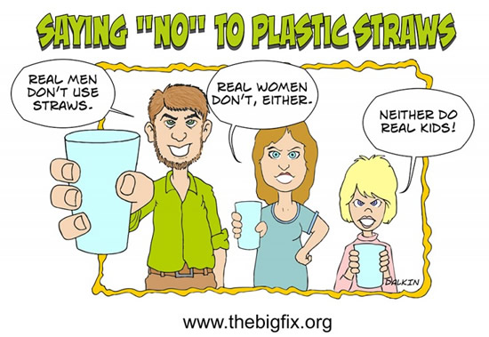 Say No To Plastic Straws