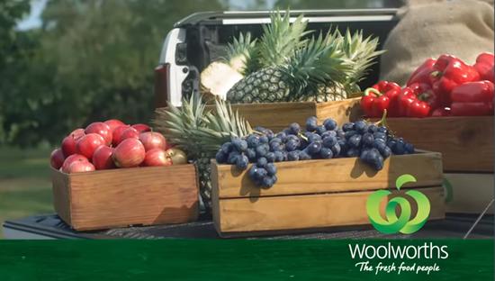 Woolworths the fresh food people